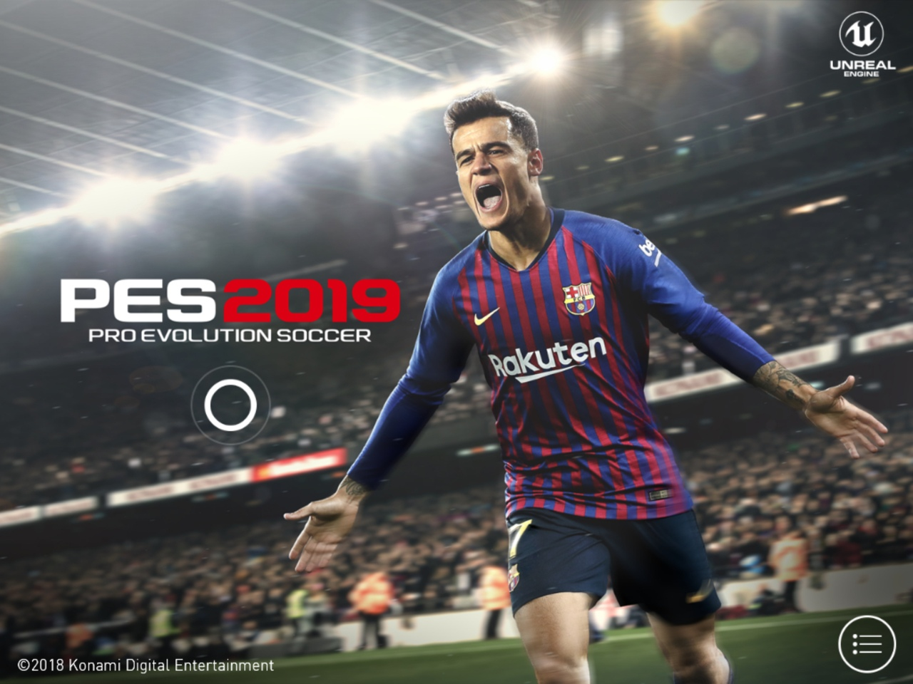Мобильная версия PES 2019