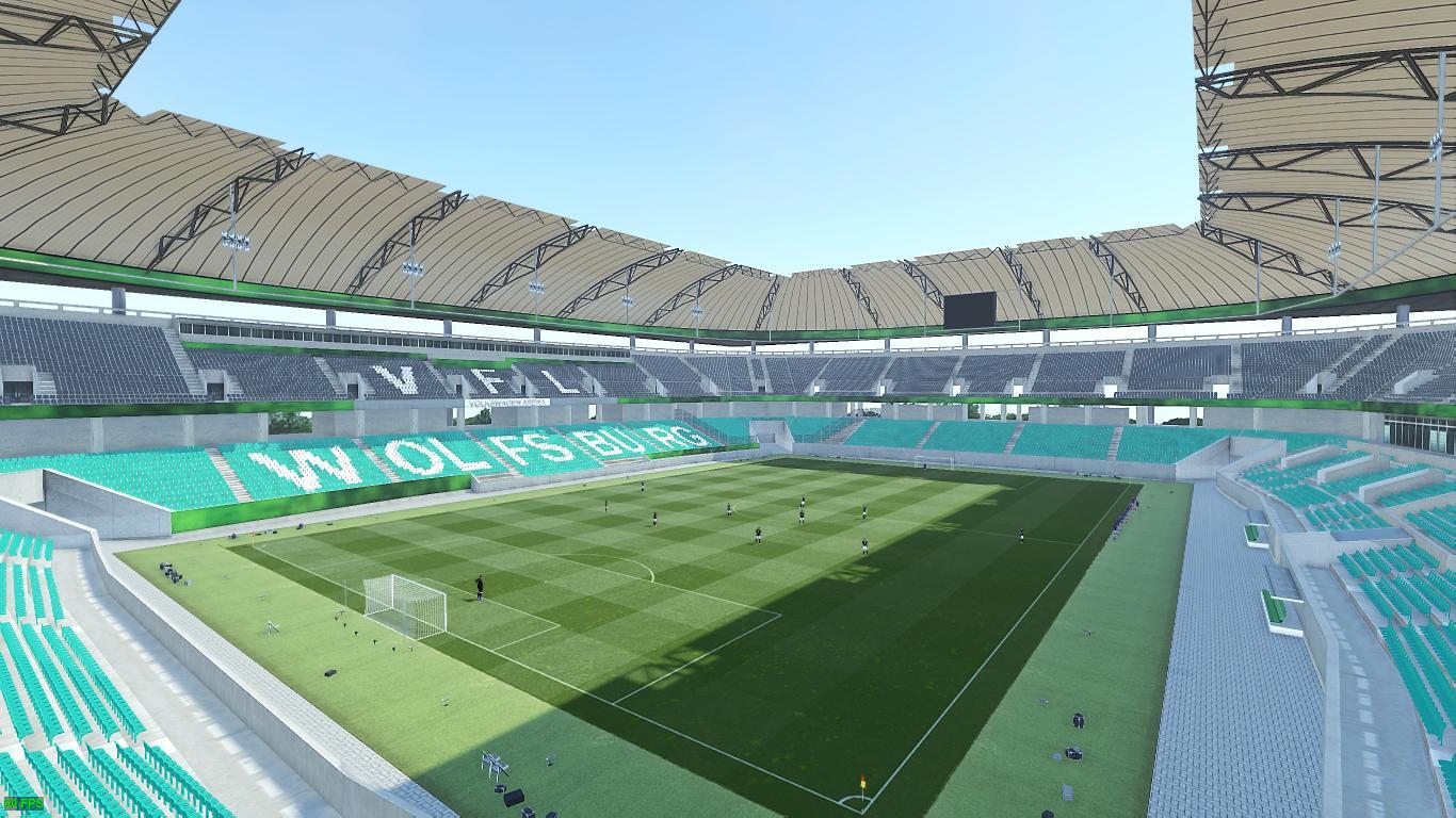 Стадион Вольфсбург в PES 2019