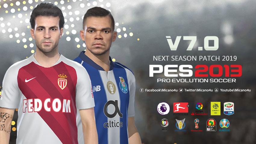Next Season Patch 2018-19 версии 7.0 для PES 2013