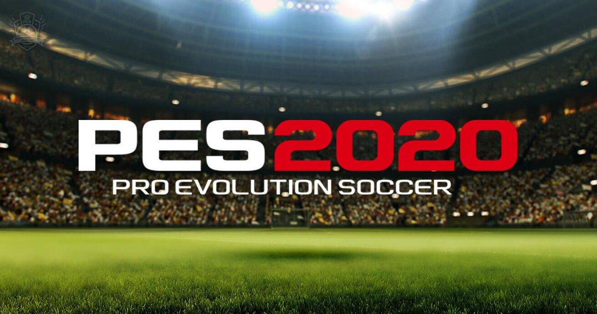 Анонс PES 2020