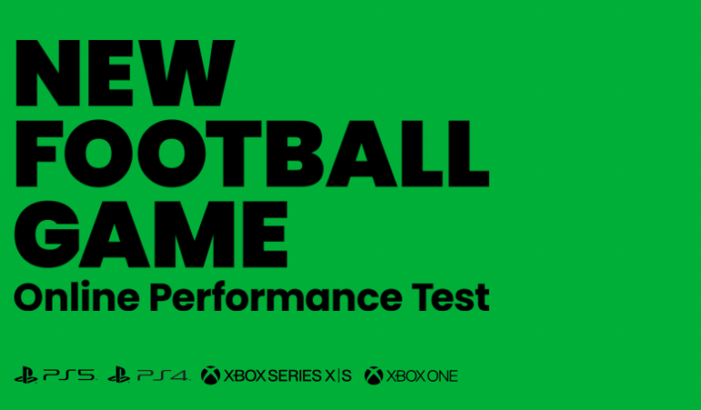 New Football Game Online Performance Test