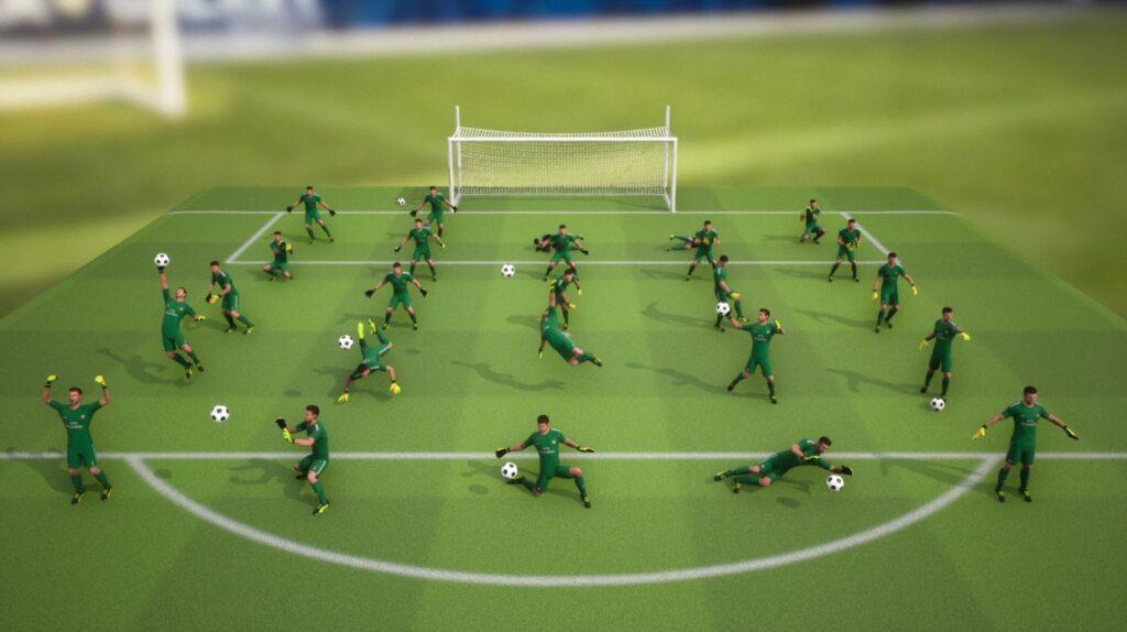 Конами разрабатывает новую часть серии Pro Evolution Soccer 2022